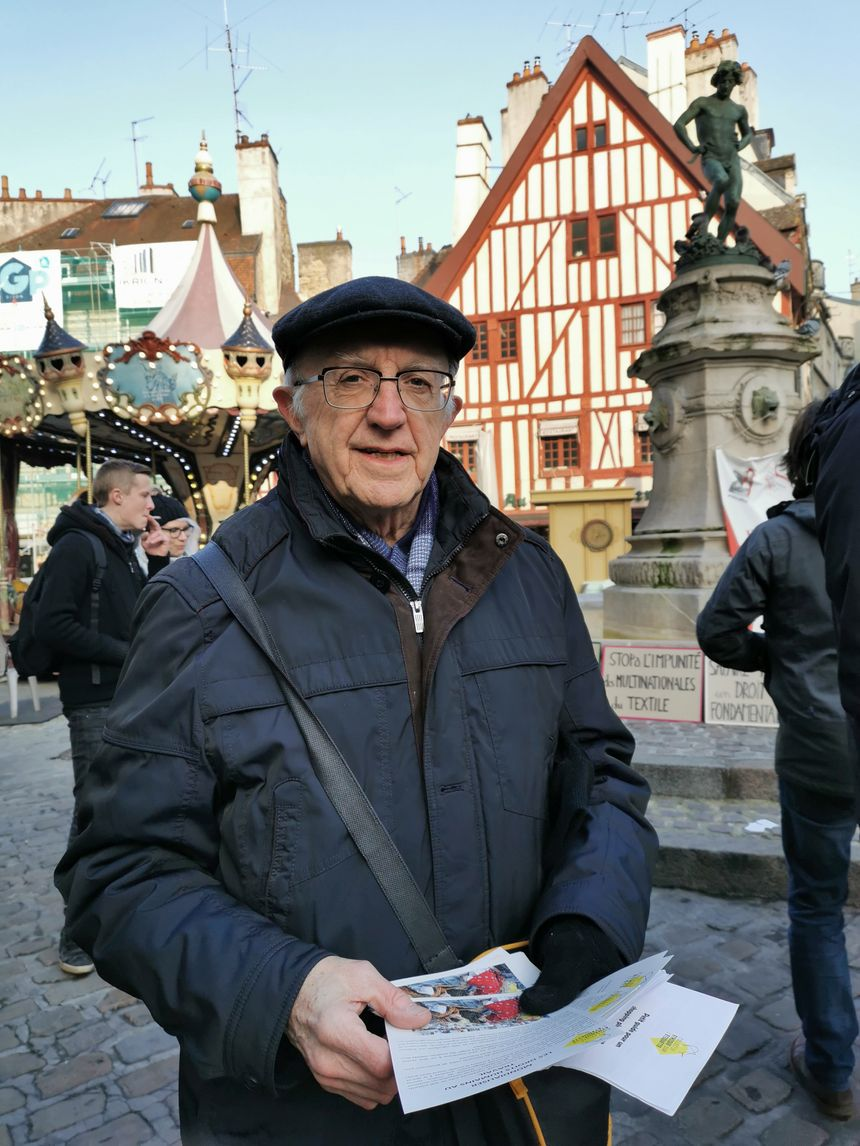 Jacques Puhl, coordonnateur du collectif à Dijon
