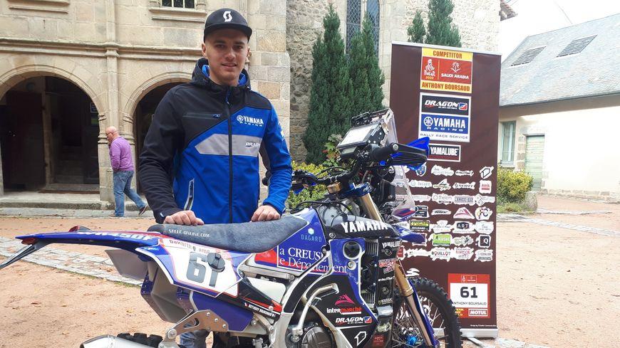 A 24 ans, Anthony Boursaud a terminé 37° du classement motos