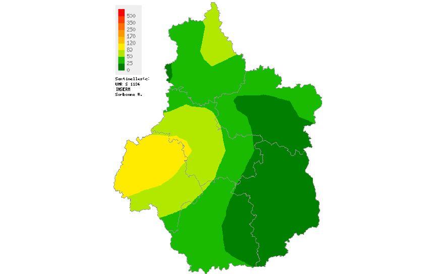 L'épidémie de grippe est en train d'arriver sur la région Centre-Val de Loire