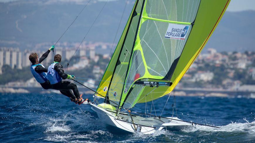 Lucas Rual et Émile Amoros en juin dernier à Marseille