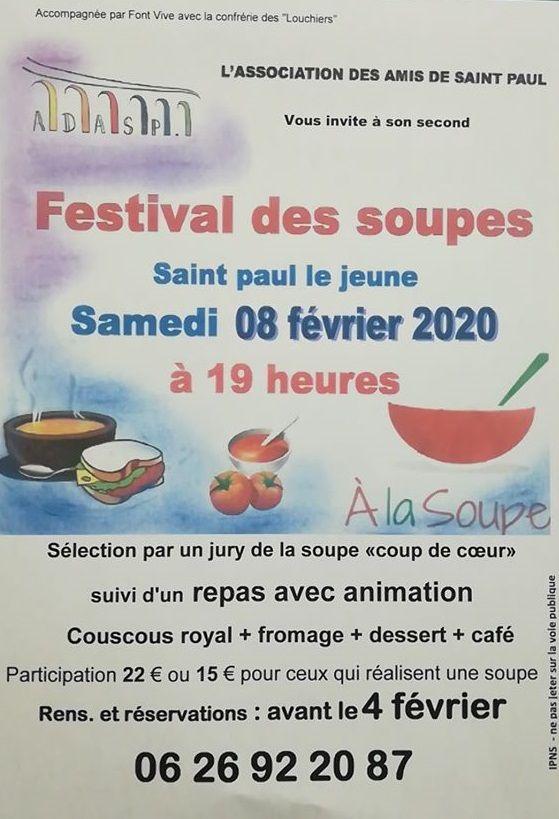 Festival des Soupes de St Paul le Jeune