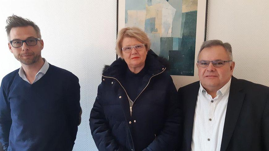 Alain et Marie-Christine Marmignon avec leur avocat Hugo Van Cauwenbergue