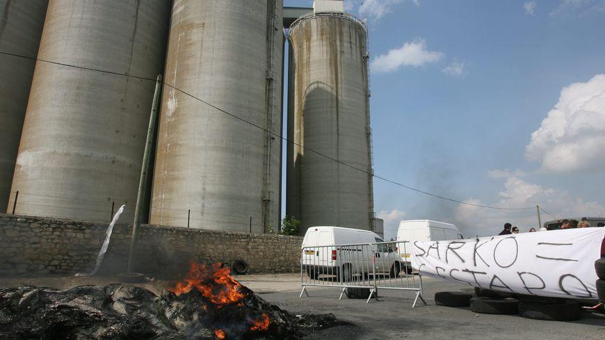 les dépôts pétroliers de La Pallice sont régulièrement la cible de manifestants