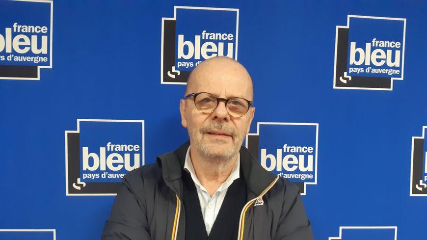 Eric Roux, journaliste culinaire auvergnat