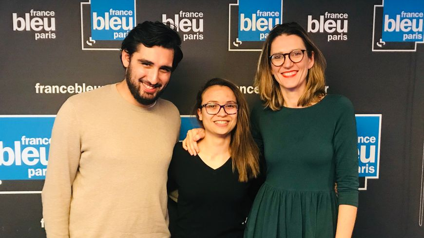 Romain Beddouk, Melody Chaïb et Pia Clemens