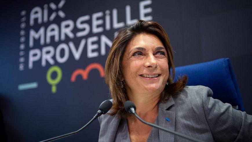 Martine Vassal est présidente de la Métropole Aix-Marseille et du département des Bouches-du-Rhône.