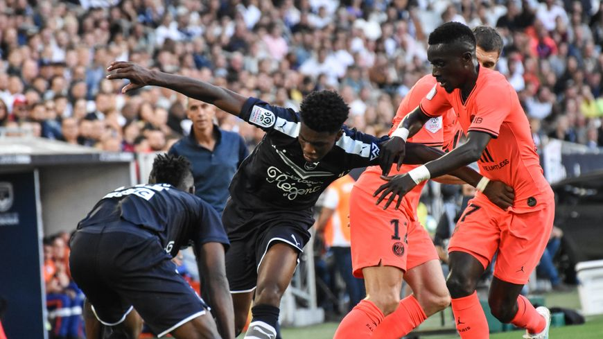 Aurélien Tchouaméni a été formé aux Girondins de Bordeaux.