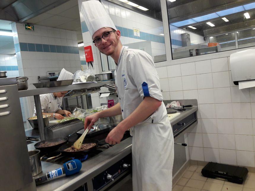 Entrepreneurship côté cuisine avec Nicolas