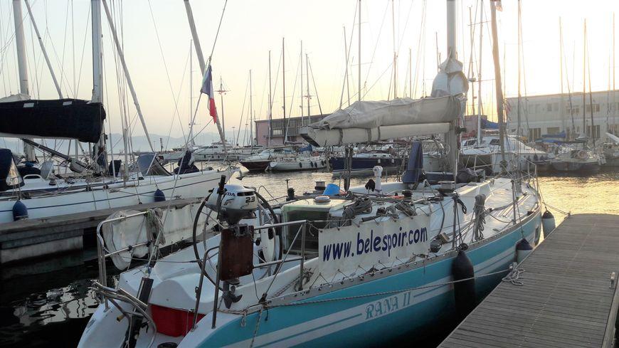 Le Rana II a été volé dans le port de l'Estaque.