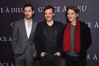 """François Ozon (""""meilleur réalisateur""""), Melvil Poupaud (""""meilleur acteur"""") et Swann Arlaud (""""meilleur second rôle masculin"""") sont tous les trois nommés aux César pour """"Grâce à Dieu""""."""