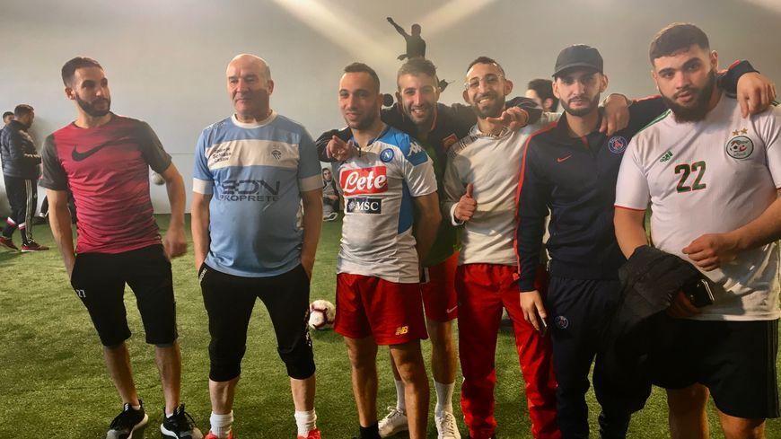 L'équipe victorieuse du Réal Rahal de Planoise a remporté le tournoi solidaire
