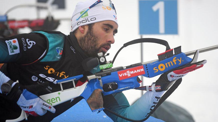 Martin Fourcade renoue avec la victoire dans le sprint d'Oberhof en Allemagne