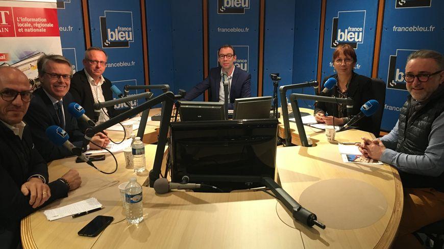 """"""" Le Forum des municipales """", l'émission de débat chaque vendredi entre 12h et 13h sur France Bleu Besançon"""