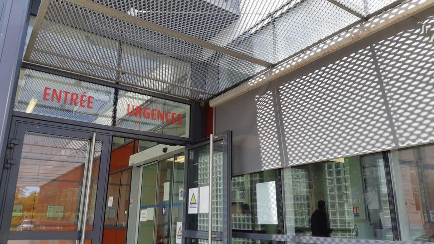 Le service des urgences de l'hôpital de Pithiviers