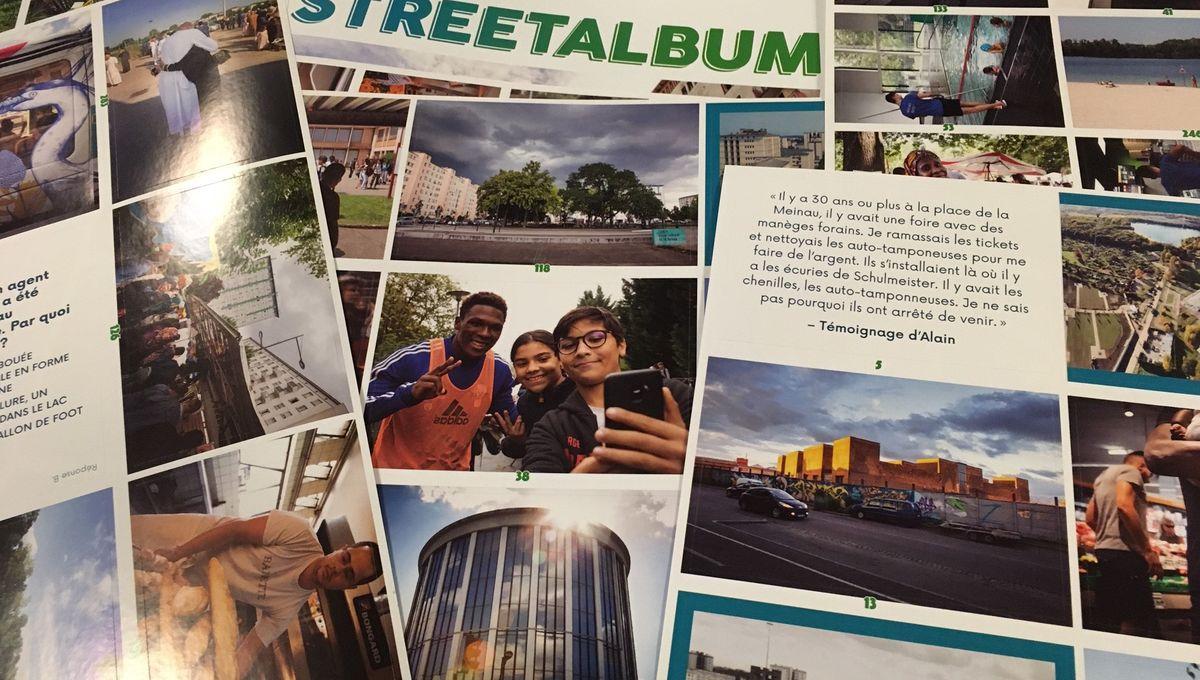 """Strasbourg : Un album """"à la mode Panini"""" pour valoriser le quartier de la Meinau"""