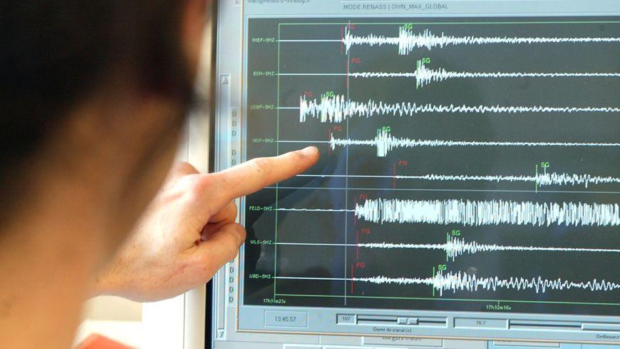 La secousse enregistrée est de magnitude 3,7.