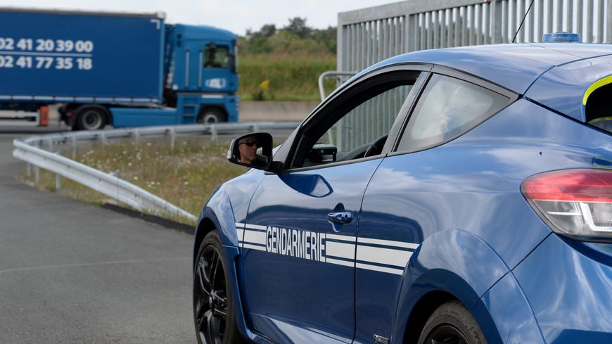 Les gendarmes ont rapidement intercepté le chauffard.