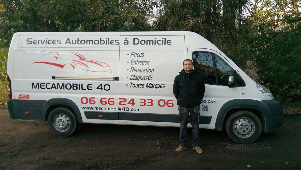 Romain Veillon : mécanicien à domicile, autour de Dax