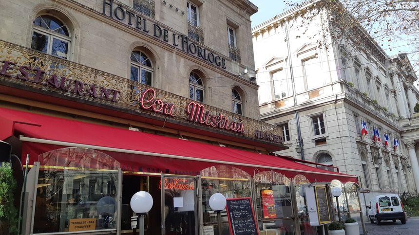 Les collaborateurs des nazis se réunissaient à la Brasserie de l'Horloge à Avignon