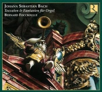CD Bach Foccroulle Ricercar