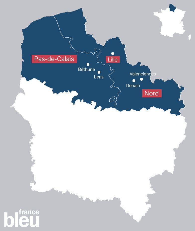 Trois villes du Pas-de-Calais ont été choisies : Béthune, Lens et Denain.