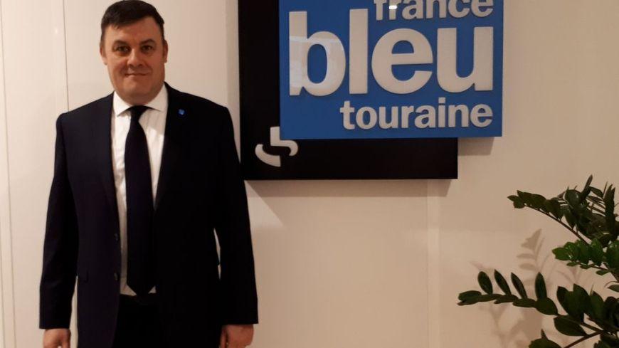 Frédéric Augis, maire divers droite de Joué-lès-Tours et candidat à un second mandat