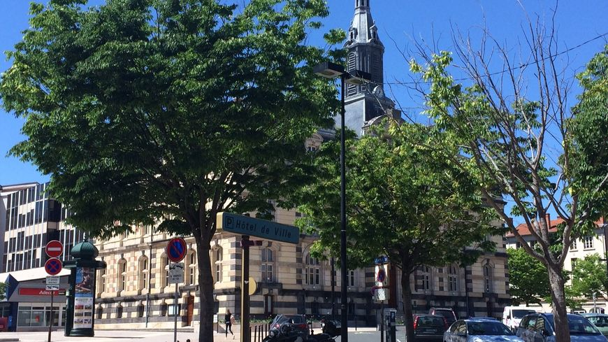 La mairie de Roanne