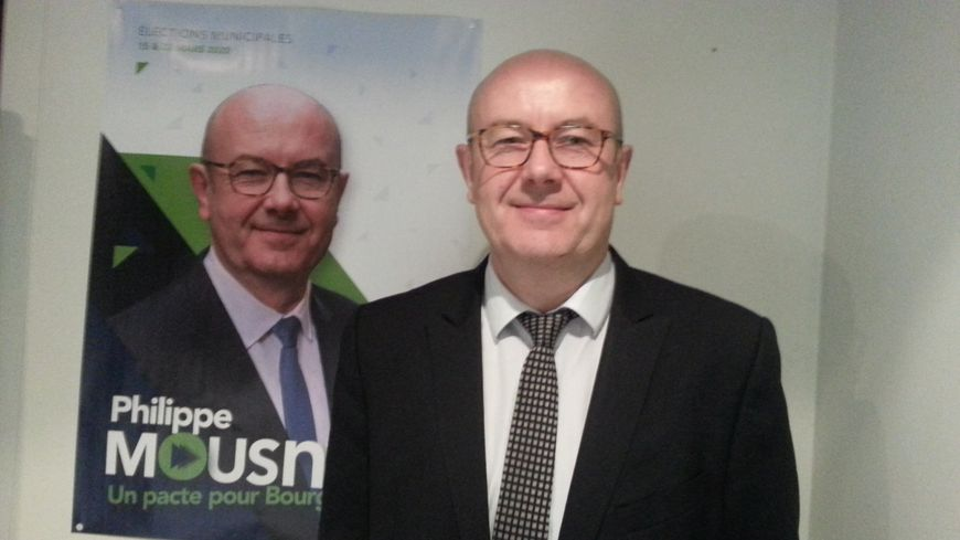 """Philippe Mousny conduit la liste """" Un Pacte pour Bourges """""""