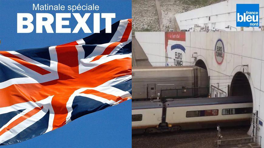 L'entrée du tunnel sous la Manche à Calais