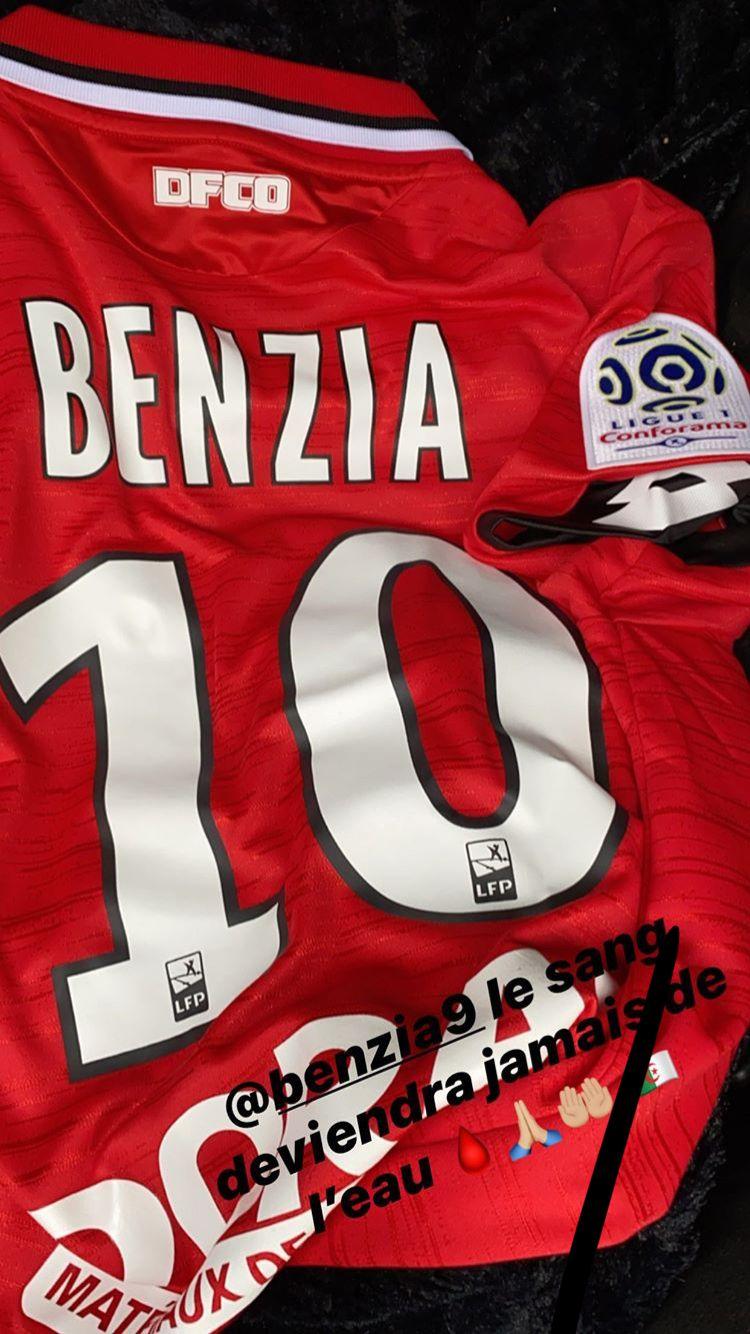 Benzia portera le numéro 10