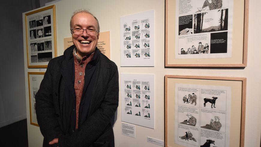 Emmanuel Guibert est notamment l'auteur de la bande dessinée Le Photographe