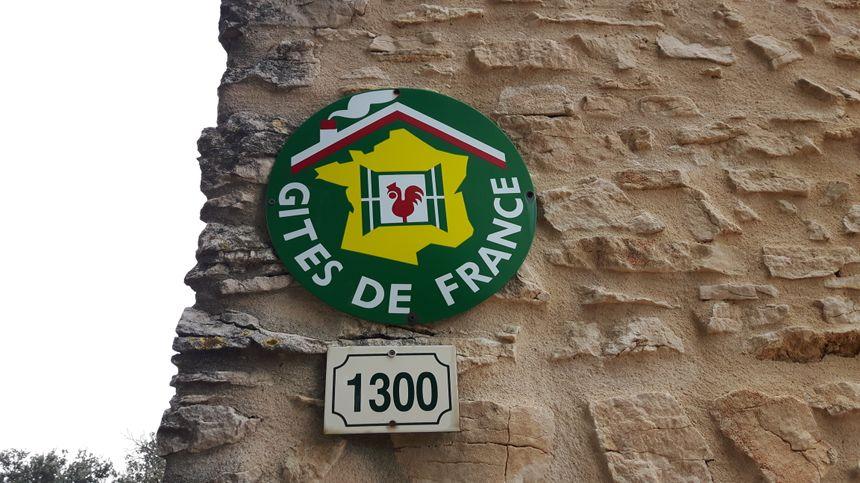 l'emblème tant prisé pour la qualité des Gites de France