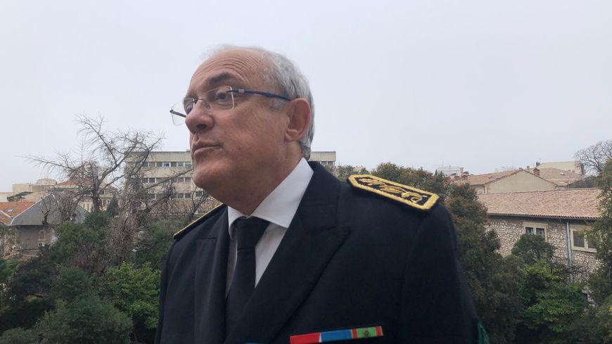 Didier Lauga, préfet du Gard