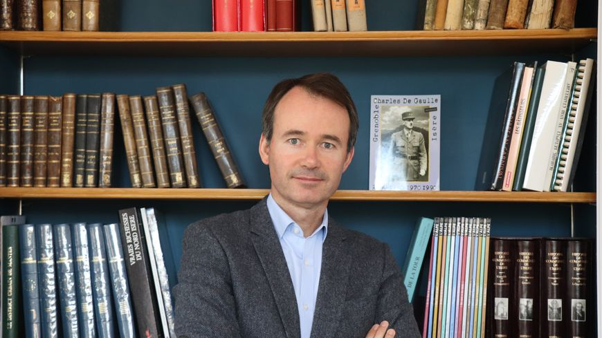 Fabien Rajon ets maire de La Tour-du-Pin depuis 2014.