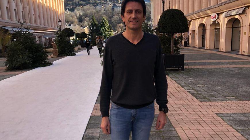 Laurent Graziano candidat de gauche à Albertville