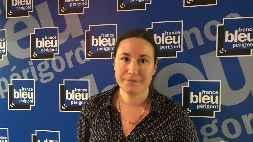 Elodie Lagarde, secrétaire départementale de la FSU en Dordogne