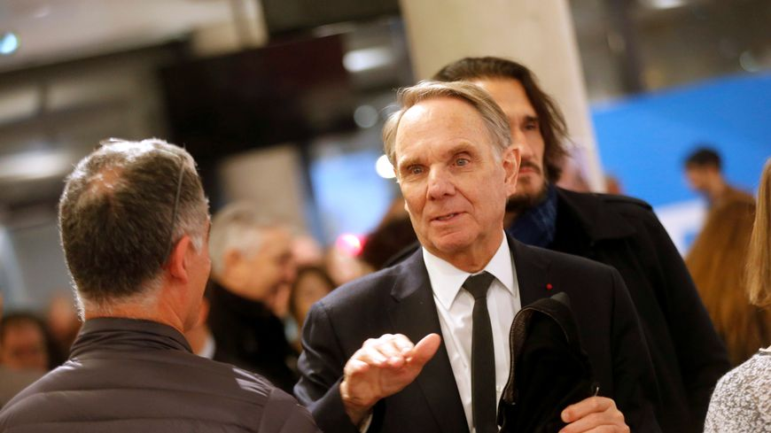 Yvon Berland à la cérémonie des voeux de la République en Marche à Marseille
