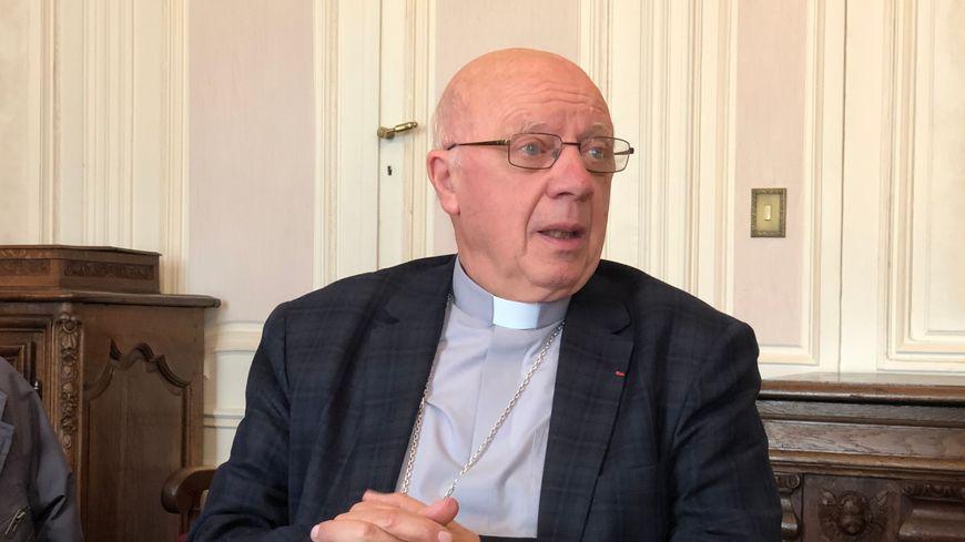 Mgr Boulanger, évêque de Bayeux-Lisieux
