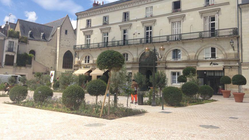 Place Châteauneuf - Tours - Indre-et-Loire