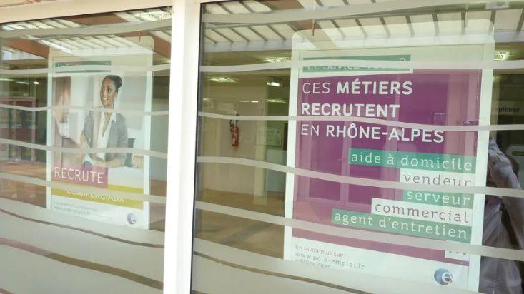 Sur un an, le chômage a davantage baissé en Drôme-Ardèche qu'au niveau régional