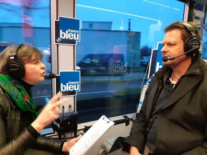 Jean-Philippe Grand (EELV) interrogé par Anne Oger, journaliste