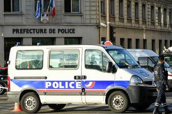 Devant la préfecture de police de Paris, le 3 octobre 2019, après l'attaque au couteau qui a fait quatre morts.