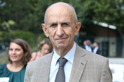 Louis Gallois, Président de la Fédération des Acteurs de la Solidarité (FAS) et président du Conseil de surveillance de PSA-Peugeot, le 10 septembre 2019 à Bonneuil-sur-Marne (94).