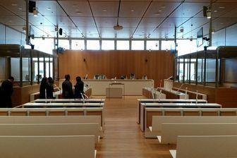 Une salle d'audience du palais de justice de Paris