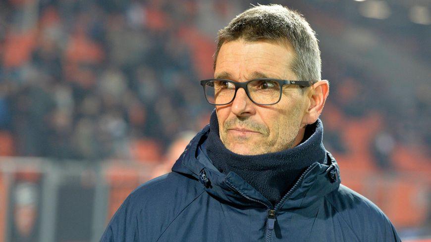 L'entraîneur de l'ASNL Jean-Louis Garcia a été expulsé en fin de rencontre