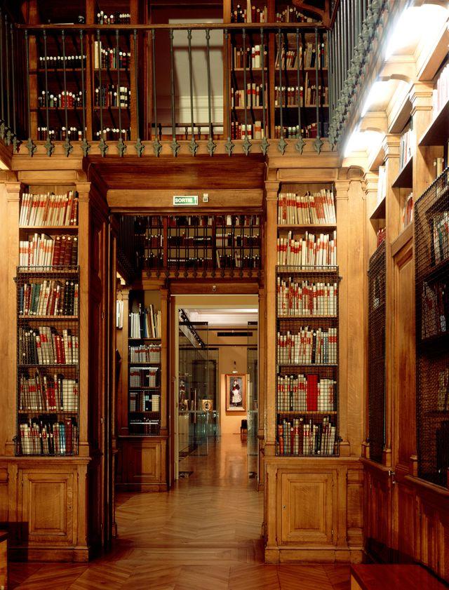 la Bibliothèque-musée de l'Opéra