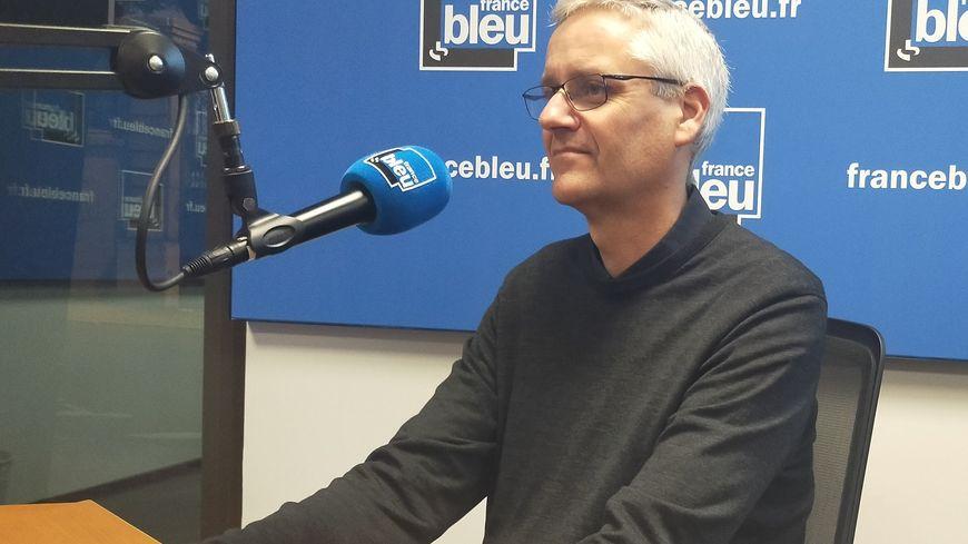Stéphane Socquet, directeur adjoint d'ATMO en Auvergne Rhône-Alpes