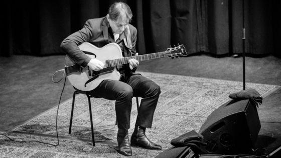 Hugo Lippi au Django Festival à Oslo en 2019