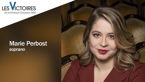 La soprano Marie Perbost fait partie des nommés aux Révélations des Victoires de la Musique Classique 2020