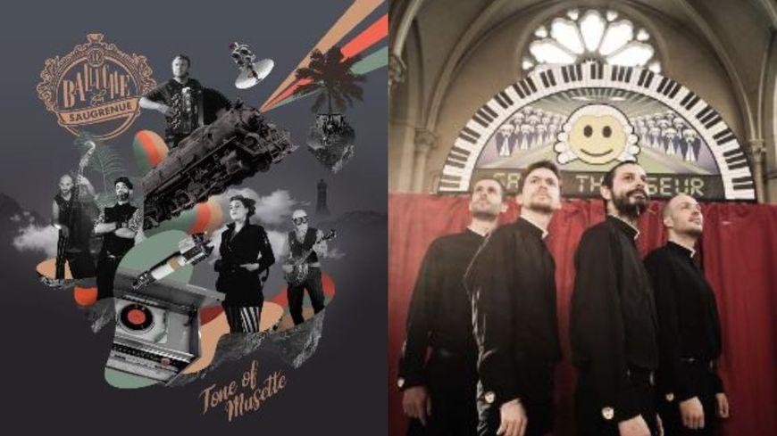 Le Balluche de la Saugrenue et Quatuor Megamix en concert Backstage